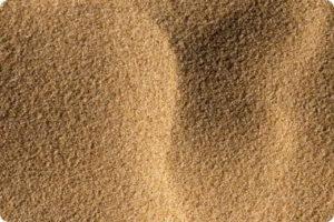 Особенности строительного песка